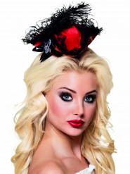 Mini chapéu vermelho pirata sexy mulher