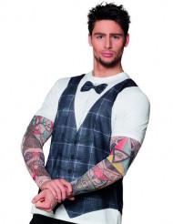 T-shirt tatuado homem