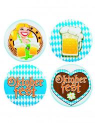 4 Crachás Oktoberfest 5 cm