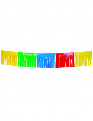 Grinalda de franjas coloridas 10 metros