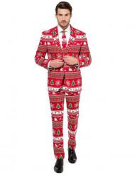 Fato Mr. Winterwonderland homem Opposuits™ Natal