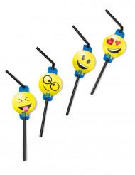 8 Palhinhas com imagens emoticons Imoji™