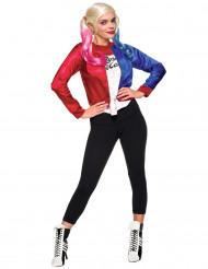 Disfarce Casaco e t-shirt adulto Harley Quinn - Suicid Squad™
