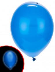 5 Balões LED azuis Illooms®