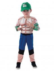 Disfarce lutador musculoso John Cena - WWE™ criança