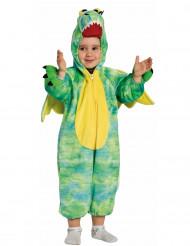 Disfarce Dragão verde criança