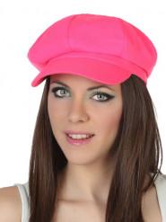 Boné cor-de-rosa fluo adulto