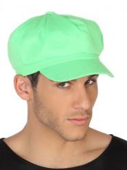 Boné verde fluo adulto