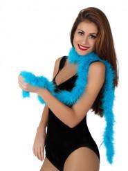 Boa azul turquesa