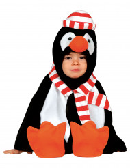 Disfarce de pinguim para bebé