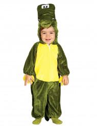 Disfarce Crocodilo verde bebé