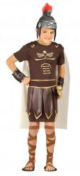Disfarce soldado romano menino