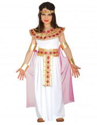 Disfarce Egípcia cor-de-rosa e dourado menina