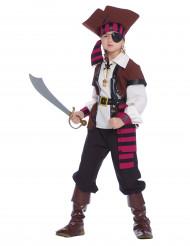 Disfarce Pirata dos 7 mares menino