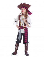 Disfarce Pirata dos mares menina
