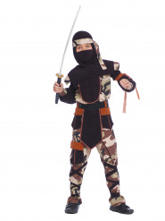 Disfarce ninja menino