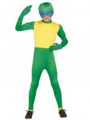Disfarce Tartaruga mascarada menino