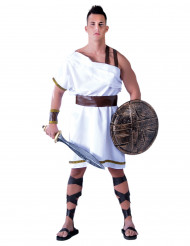 Disfarce guerreiro grego branco homem