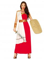 Disfarce guerreira grega mulher