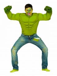 Disfarcemonstro verde homem