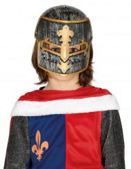 Capacete de cavaleiro medieval criança