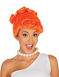 Peruca cor de laranja mulher