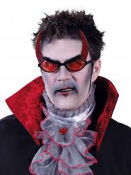Óculos demónio adulto Halloween