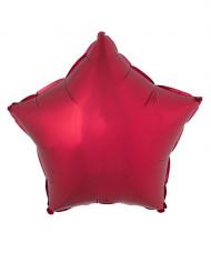 Balão alumínio estrela vermelho