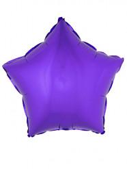 Balão alumínio estrela lilás