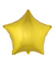 Balão alumínio estrela dourada 70 cm