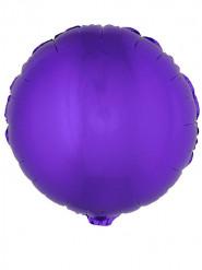 Balão alumínio redondo lilás