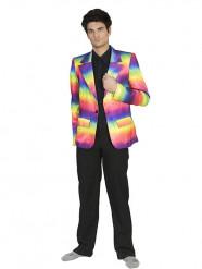 Casaco arco-iris homem