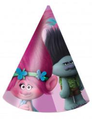 6 Chapéus de festa Trolls™