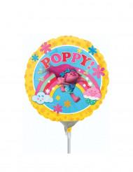 Pequeno balão de alumínio Poppy Trolls™ 23 cm