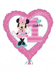 Valão alumínio Primeiro aniversário Minnie™