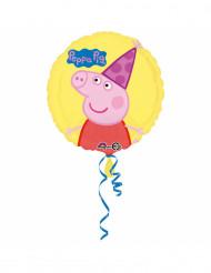 Balão alumínio Peppa Pig™ 43 cm