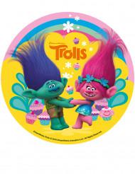 Folha de açúcar Trolls™ 16 cm
