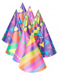 10 Chapéus de festa coloridas
