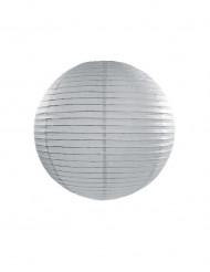 lanterna japonesa cinzenta25 cm
