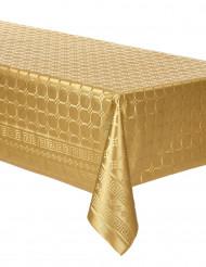 Toalha em rolo papel damasco dourado 6 metros