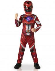 Disfarce Power Rangers™ Vermelho- Filme