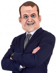 Máscara humorística de látex Emmanuel adulto