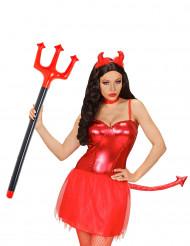 Forquilha de diabo insuflável Halloween