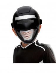 Máscara power robot preto criança
