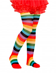 Collants coloridos criança