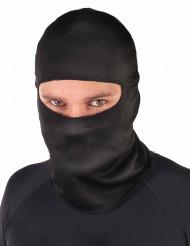 Capuz ninja preto - adulto