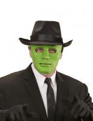 Máscara anónimo verde adulto