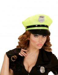 Boné polícia amarelo