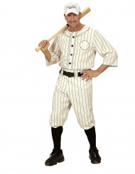Disfarce jogador de beisebol homem