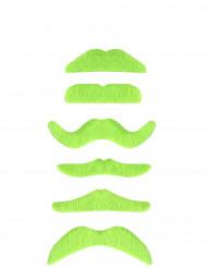 Bigode verde fluo